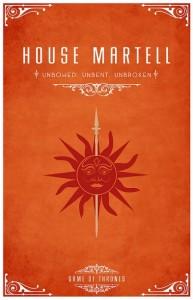 Герб дома Мартелл
