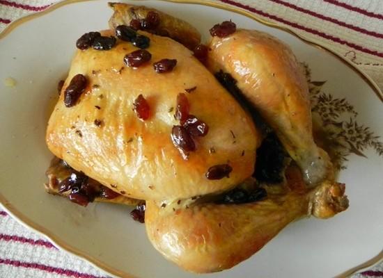 медовая курица - рецепт