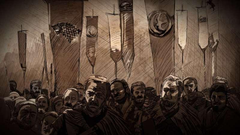 Войска восстания баратеона